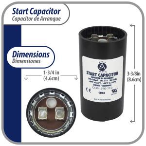 Lg Rotary Compressor 18.000btu R410 220v/1ph/60hz Internal O.L.P (Includes: Cover, Gasket, Wahser, Nut, Damper Rubber) Lg Gj176k