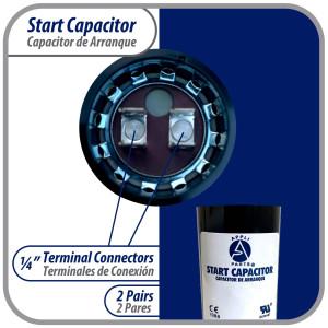 Us Motor 1/2hp 1075rpm 6poles 1shaft Teao Enclosure 1speed 5.5diameter Ccw Lead End Rev 208-230v/60hz/1ph 10mfd/370vac Run Capac