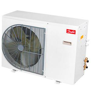 Oyon Condenser Oca-104 3/8+Hp 40 Tubes (10x4) For 1x250mm Fan Blade Connection 3/8x3/8