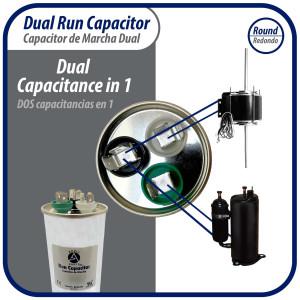 Motor 3/4hp 1140rpm 230v/460v 3ph (1 Shift) 03188 G.E