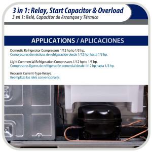 Condensing Unit 2hp R404 208-230v/3ph/60hz Mbp Danfoss Maneurop Optyma 114n6405 / 114N3605 Hczc0200uwf300q Replaces: Awa7515 / V